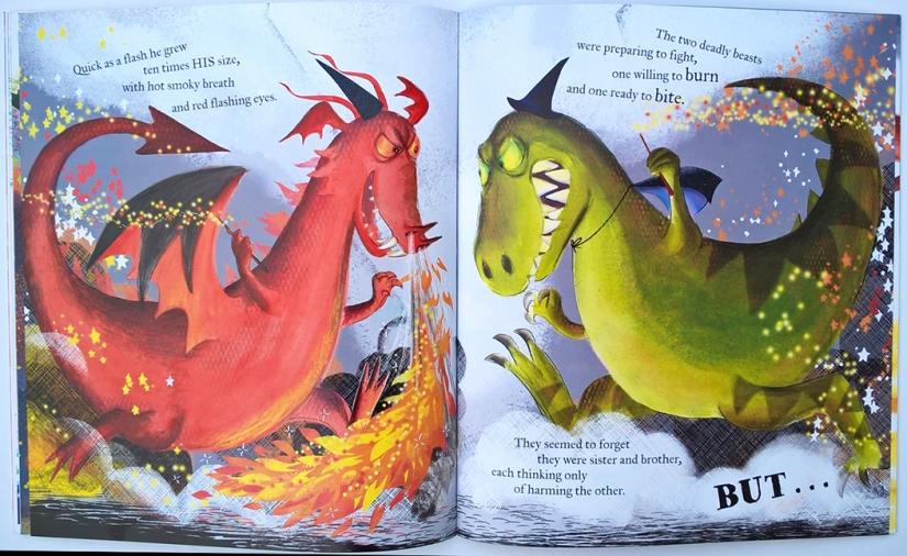 Mudwaffler - Dragon v Dinosaur (3)