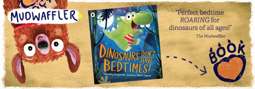 Dinosaurs Don't Have Bedtimes BOOK REVIEW BANNER